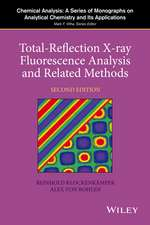Total–Reflection X–Ray Fluorescence Analysis and Related Methods