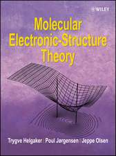 Molecular Electronic–Structure Theory