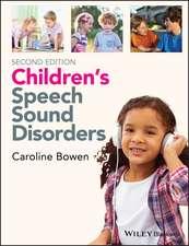 Children′s Speech Sound Disorders