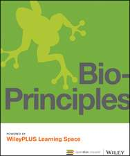 Bio–Principles, 1e WileyPLUS Learning Space Card