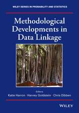 Methodological Developments in Data Linkage