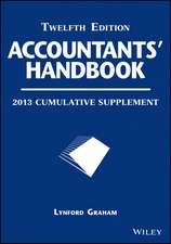 Accountants′ Handbook: 2013 Cumulative Supplement