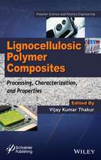 Lignocellulosic Polymer Composites: Processing, Characterization, and Properties