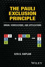 The Pauli Exclusion Principle: Origin, Verifications, and Applications
