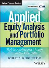 Applied Equity Analysis Video Course