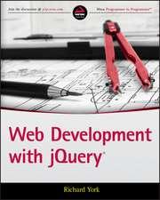 Web Development with Jquery:  Processes, Deposits, Environments, Tectonics and Sedimentation