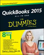 QuickBooks 2015 All–in–One For Dummies