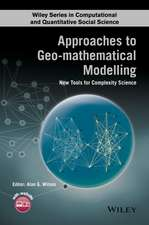Approaches to Geo–mathematical Modelling: New Tools for Complexity Science