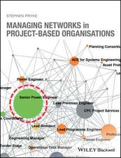 Managing Networks in Project–Based Organisations