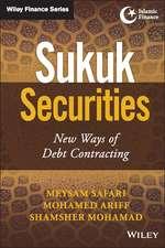 Sukuk Securities: New Ways of Debt Contracting