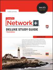 CompTIA Network+ Deluxe Study Guide: Exam N10–006