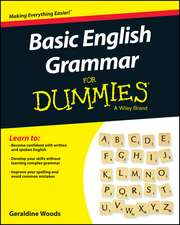 Basic English Grammar For Dummies – US