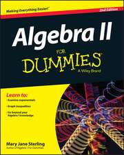 Algebra II for Dummies:  Part 2, Financial Decision Making Set