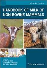 Handbook of Milk of Non–Bovine Mammals