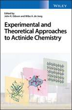 Experimental and Theoretical Approaches to Actinide Chemistry