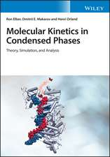 Molecular Kinetics in Condensed Phases: Theory, Simulation, and Analysis