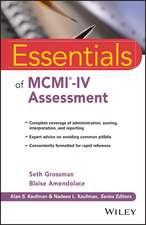 Essentials of MCMI–IV Assessment