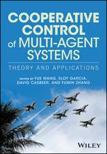 Cooperative Control of Multi–Agent Systems: Theory and Applications