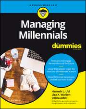Managing Millennials For Dummies