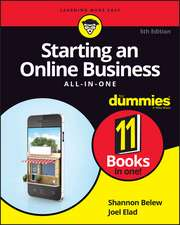 Starting an Online Business All–in–One For Dummies