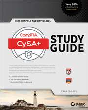 CompTIA CySA+ Study Guide: Exam CS0–001