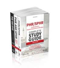 PHR and SPHR Professional in Human Resources Certification Kit: 2018 Exams