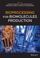 Bioprocessing for Biomolecules Production