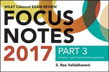 Wiley CIAexcel Exam Review 2017 Focus Notes, Part 3