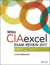 Wiley CIAexcel Exam Review 2017, Part 2