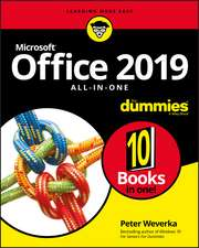 Office 2019 All–in–One For Dummies