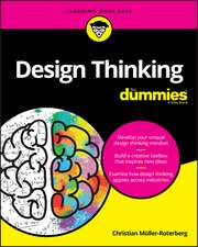 Design Thinking For Dummies