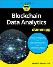 Blockchain Data Analytics For Dummies