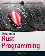 Beginning Rust Programming