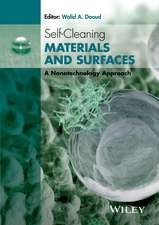Self–Cleaning Materials and Surfaces: A Nanotechnology Approach