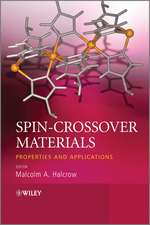 Spin–Crossover Materials: Properties and Applications