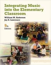 Integrating Music Into the Elementary Classroom:  A Journey