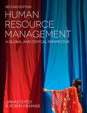 Human Resource Management: A Global and Critical Perspective
