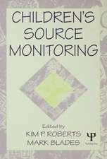 Children's Source Monitoring