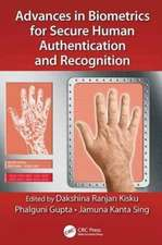 Advances in Biometrics for Secure Human Authentication and Recognition