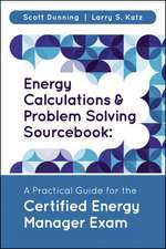 Energy Calculations and Problem Solving Sourcebook