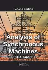 Analysis of Synchronous Machines