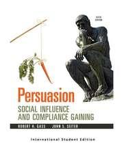 Gass, R: Persuasion