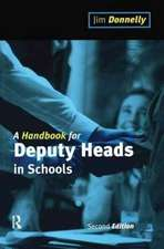 A Handbook for Deputy Heads in Schools