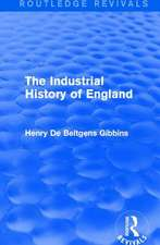 Industrial History of England