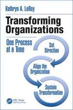 Leroy, K: Transforming Organizations
