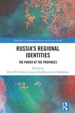 RUSSIA S REGIONAL IDENTITIES CLOW