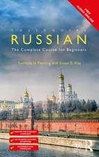 COLLOQUIAL RUSSIAN 4 E PB WITH FREE