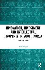 INNOVATION INVESTMENT AND IP IN KO
