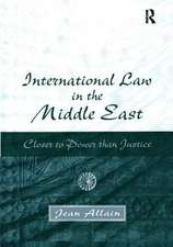 International Law in the Middle East