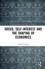 Greed in the History of Political Economy